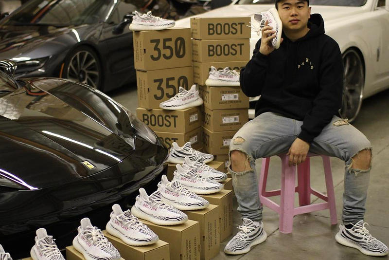 "f8b9df8dde018 Allen Kuo Resurfaces to Tease His Impressive YEEZY BOOST 350 V2 ""Zebra""  Stockpile. """