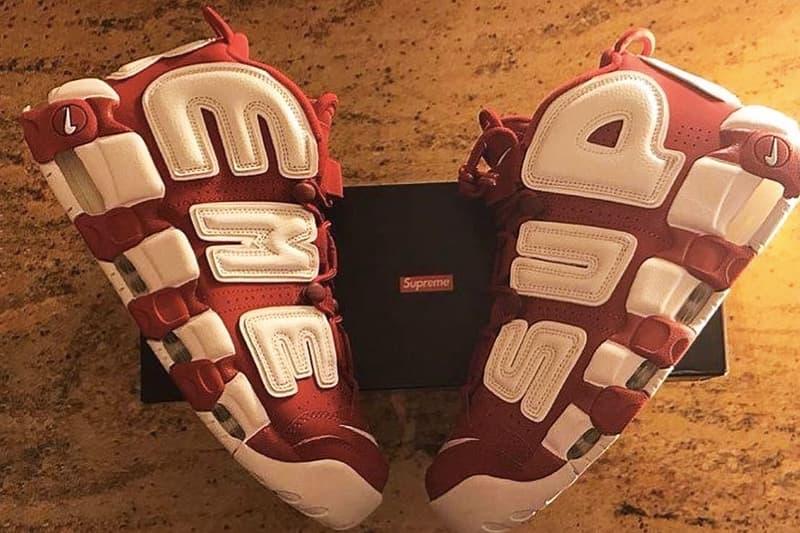 9b5bdac6013 A$AP Bari Receives Supreme x Nike Air More Uptempo | HYPEBEAST