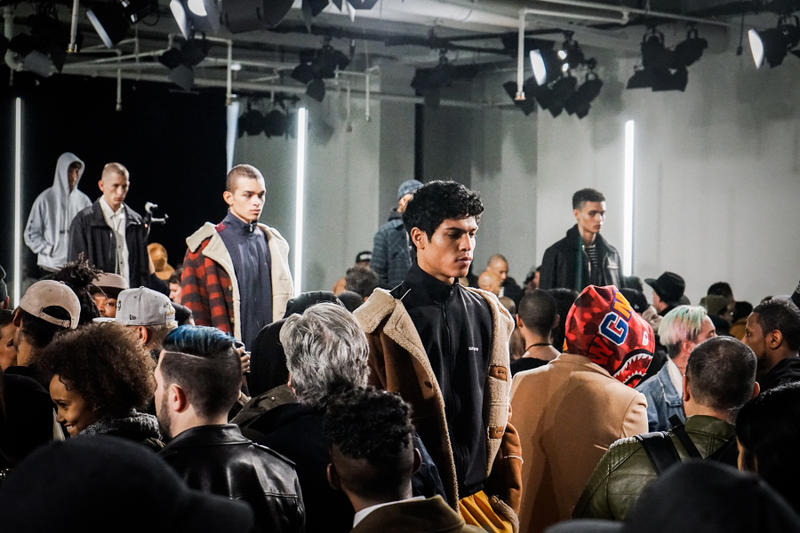 "STAMPD's ""Asphalt Wave"" 2017 Fall/Winter Backstage Look New York Fashion Week Men's Runway Shows"