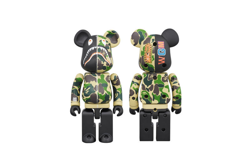 c5d76db0 BAPE A Bathing Ape and BEARBRICK Apparel Collection | HYPEBEAST