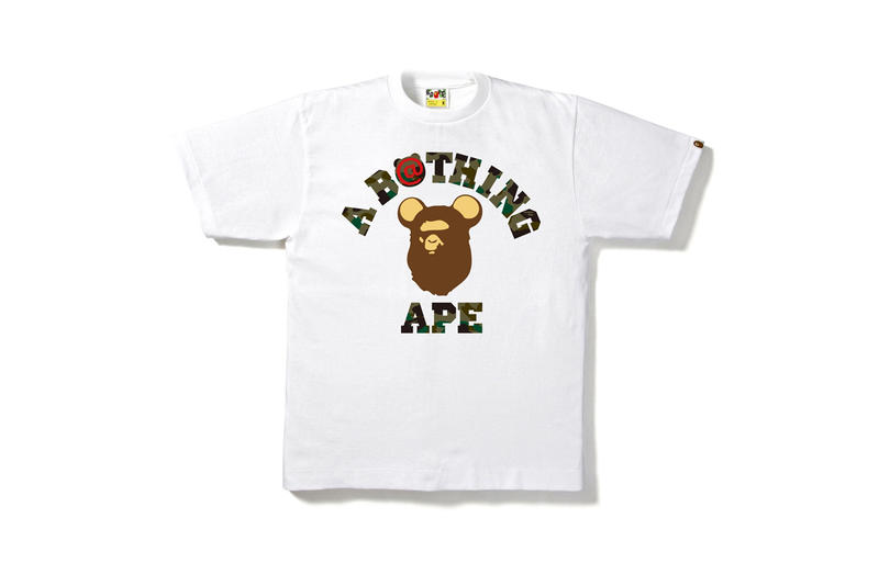 BAPE A Bathing Ape BEARBRICK Apparel Collection