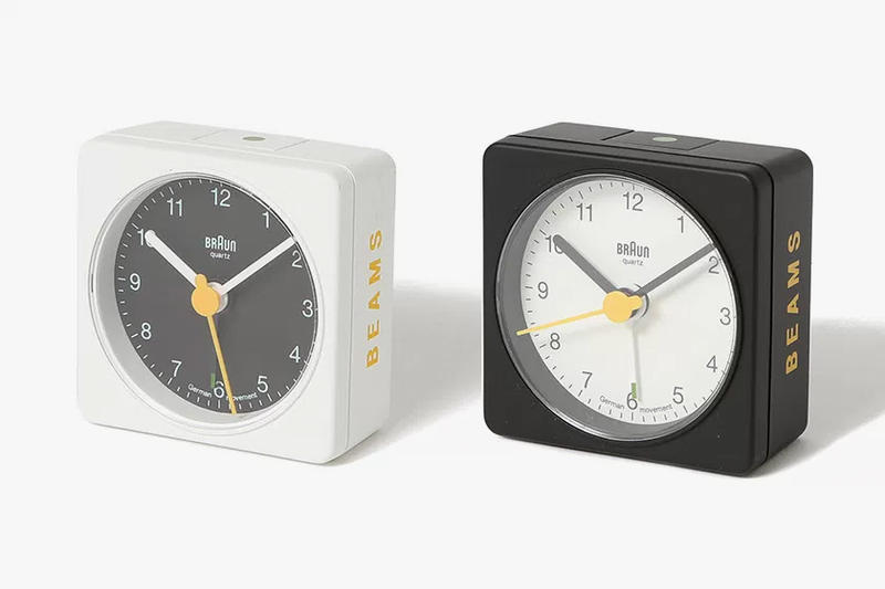 BEAMS x Braun BNC002 Clock