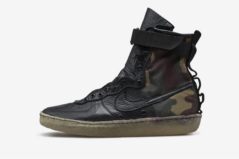 Behind the Nike SF AF1 Design Ben Kirschner