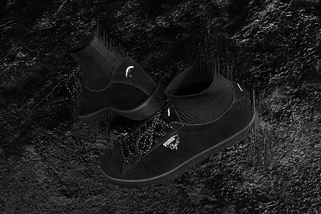 Black Rainbow PUMA Clyde Sock Exclusive sneaker HBX
