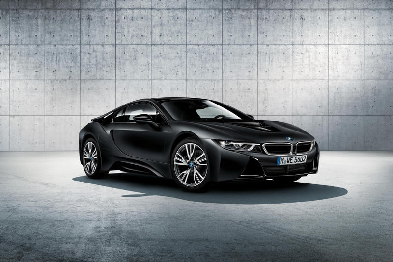 Bmw I8 Adds Protonic Frozen Black And Frozen Yellow Color Options