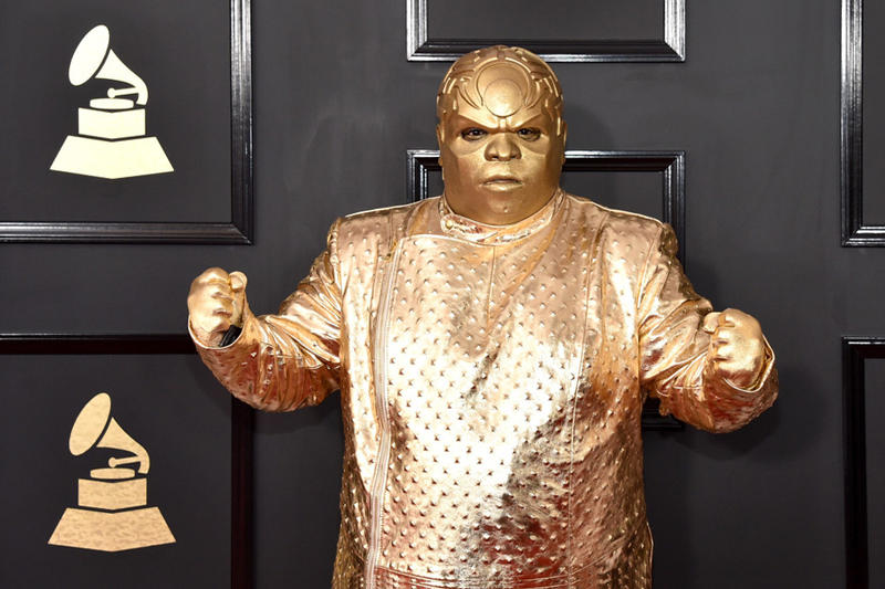 CeeLo Green Speaks About Gold GRAMMY Outfit