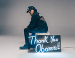 "Chance the Rapper Models Joe Freshgoods' ""Thank You Obama"" Collection"