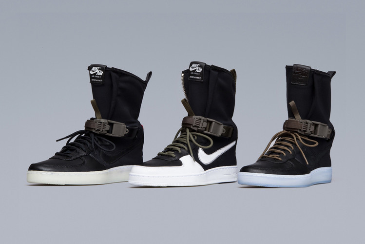 sale retailer 6b4d8 6b0e8 Here Are the Most Detailed Shots of the ACRONYM x Nike AF1 Dowtown Hi SP