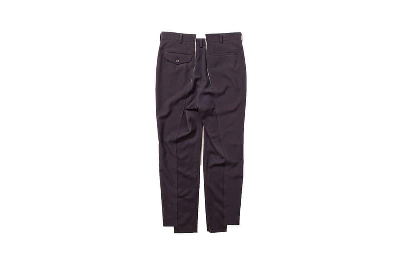 COMME Des GARÇONS HOMME Plus Unconstructed Trouser 2017 spring summer