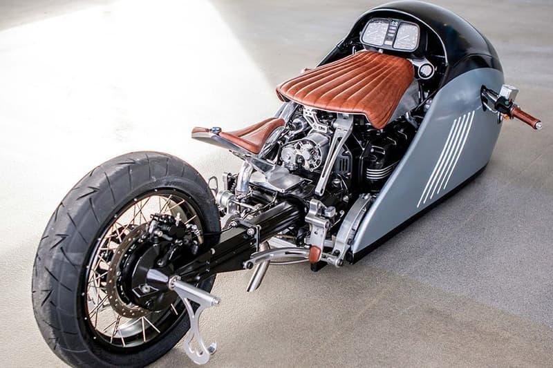 Custom BMW K75 Motorcycle