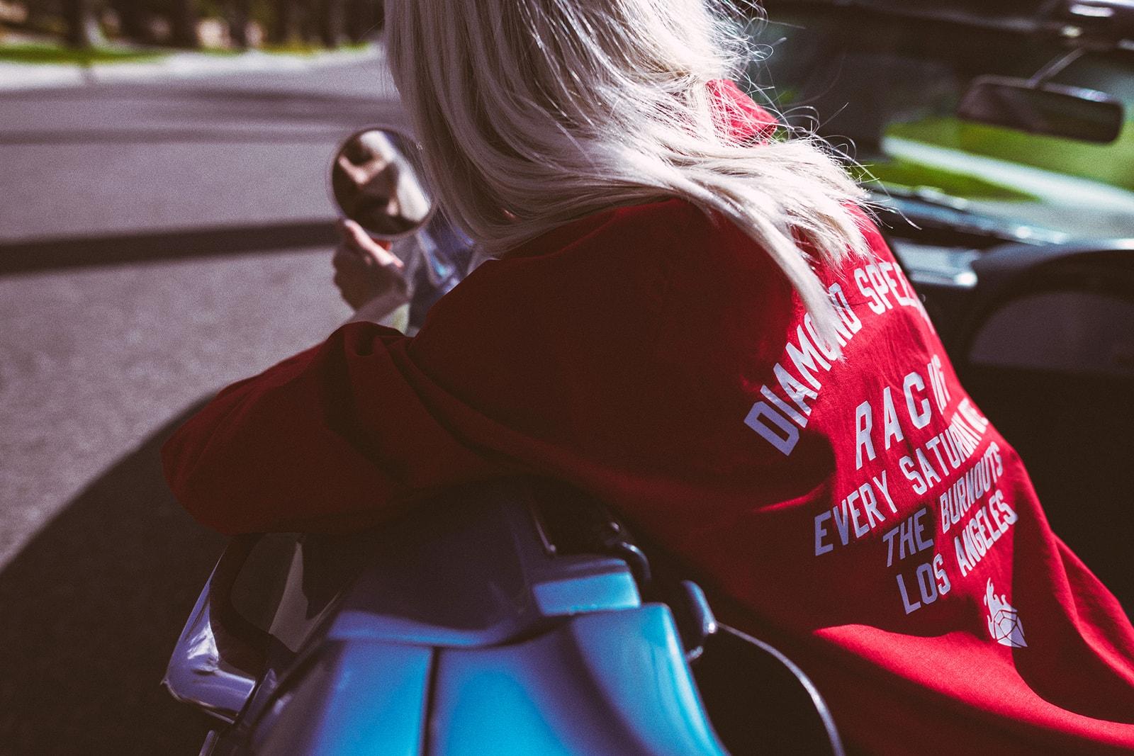 Automotive Print T-Shirt Streetwear Trend