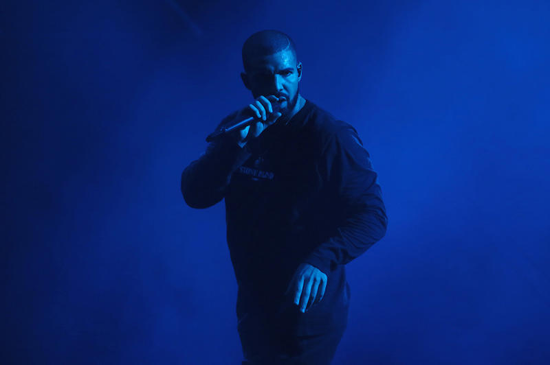 Drake London OVO Fest, Wears Exclusive Stone Island Collaboration