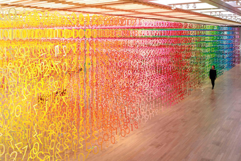 Forest of Numbers Emmanuelle Moureaux National Art Center Tokyo