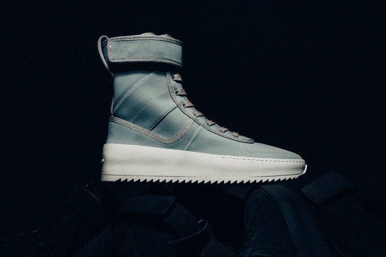 7178ed04459b Fear of God Drops Its Military Sneaker in Mint Green at RSVP Gallery ...