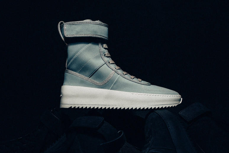 Fear of God Military Sneaker Mint Green RSVP Gallery