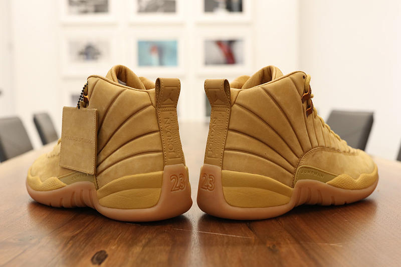 PSNY x Air Jordan 12 Wheat First Look