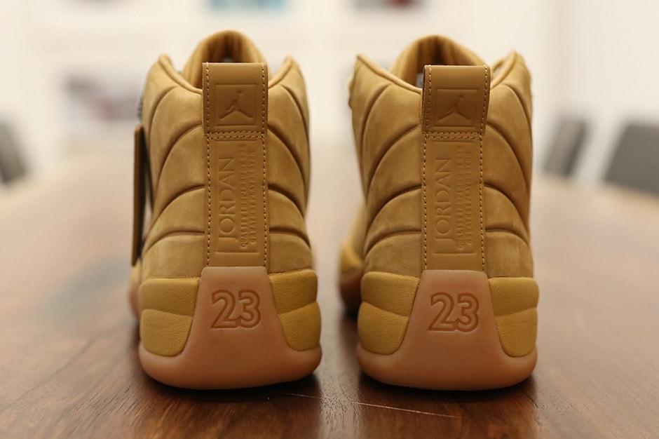 the latest 8be07 b1ec4 First Look at PSNY x Air Jordan 12 Wheat | HYPEBEAST