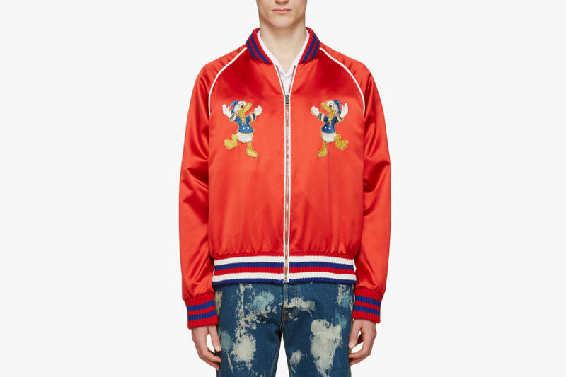 Gucci Donald Duck Sweater Pullover And Jacket Hypebeast