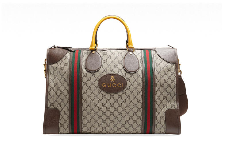 8d8e392662c2 Gucci Neo-Vintage Luggage Collection | HYPEBEAST