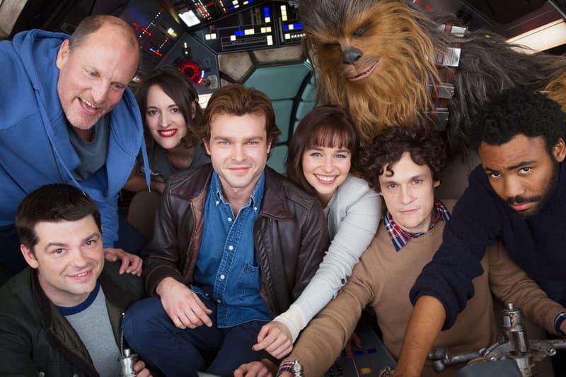 Han Solo Star Wars Movie Cast Photo