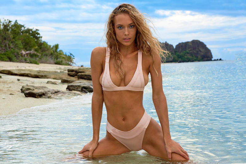 Hannah Ferguson's Latest Cover for 'Sports Illustrated Swimsuit Issue', Behind the Scenes Video Body Paint Models