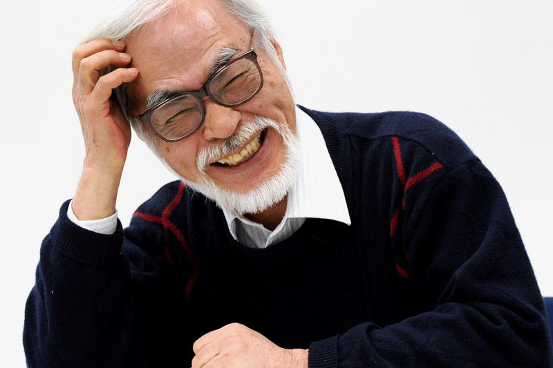 Hayao Miyazaki Studio Ghibli Toshio Suzuki