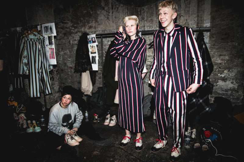Henrik Vibskov Fall/Winter 2017 Backstage