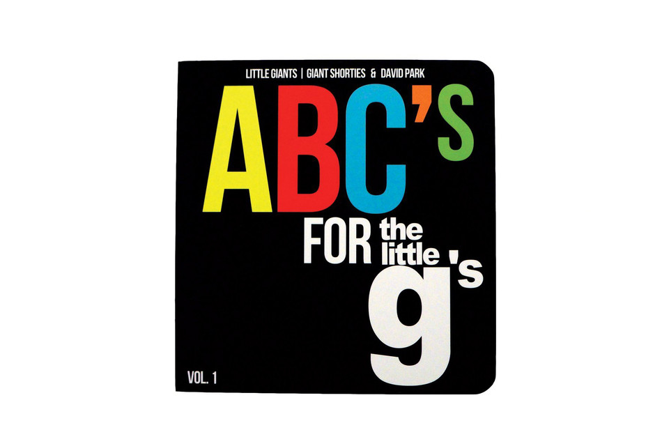 a447b0834d6 #Hypebeastkids: 'ABC's for the Little G's' Teaches Kids the Alphabet  Through Sneakers | HYPEBEAST
