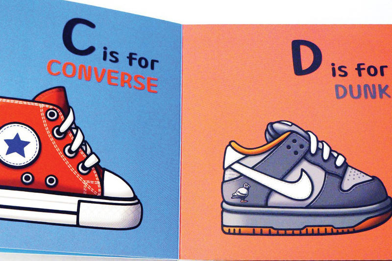 #Hypebeastkids: 'ABC's for the Little G's' Teaches Kids the Alphabet Through Sneakers Bapesta Yeezy