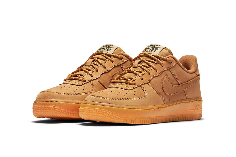 hypebeastkids Nike Air Force 1 Low Wheat