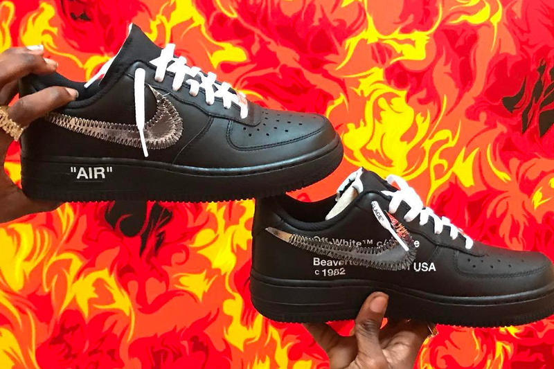 8ca98e1acc84c Ian Connor Teases Potential OFF WHITE x Nike Air Force 1 Silhouette ...