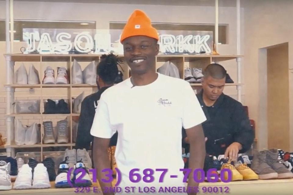 6ec2e39942 Jason Markk Flagship Store Third Anniversary Infomercial