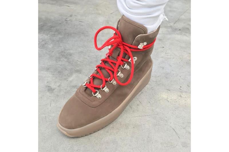Jerry Lorenzo Previews New Hiking Sneaker