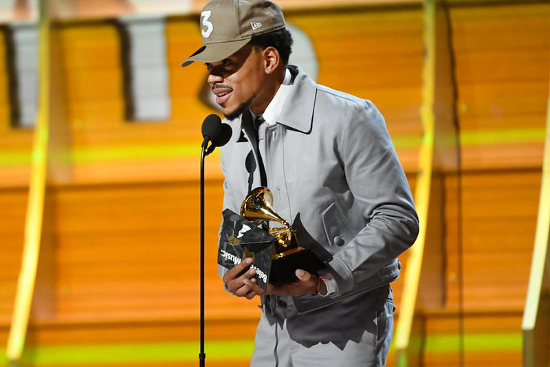Image result for chance the rapper grammys