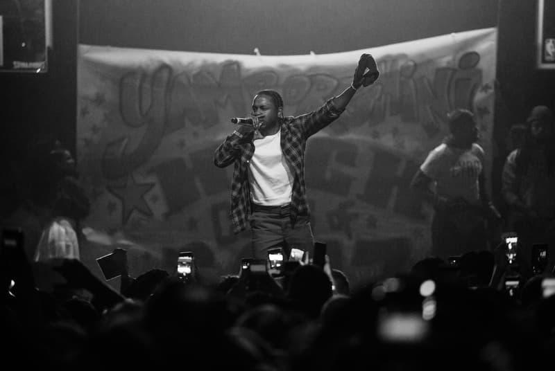 Kendrick Lamar ScHoolboy Q First Platinum Alright Studio