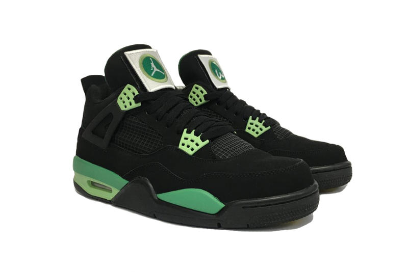 "Mark Wahlberg's Exclusive ""Wahlburgers"" Air Jordan 4 1-of-1 Marky Mark Donnie Wahlberg  Jordan Formula 23"
