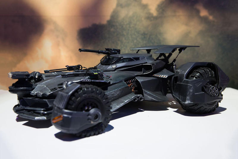 Mattel Justice League Batmobile Emits Real Smoke