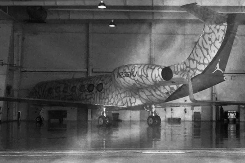 Michael Jordan Elephant Print Jet