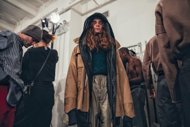 N HOOLYWOOD Daisuke Obana Backstage New York Fashion Week Mens