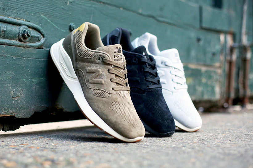 new balance 530 classic suede sneaker