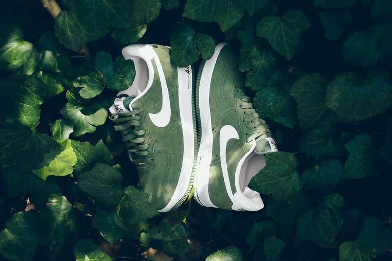 Nike Air Force 1 Palm Green White