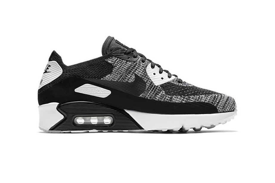 competitive price 3d86f fcfc6 Nike Air Max 90 Ultra 2.0 Flyknit Is Set to Drop in Classic Black and White
