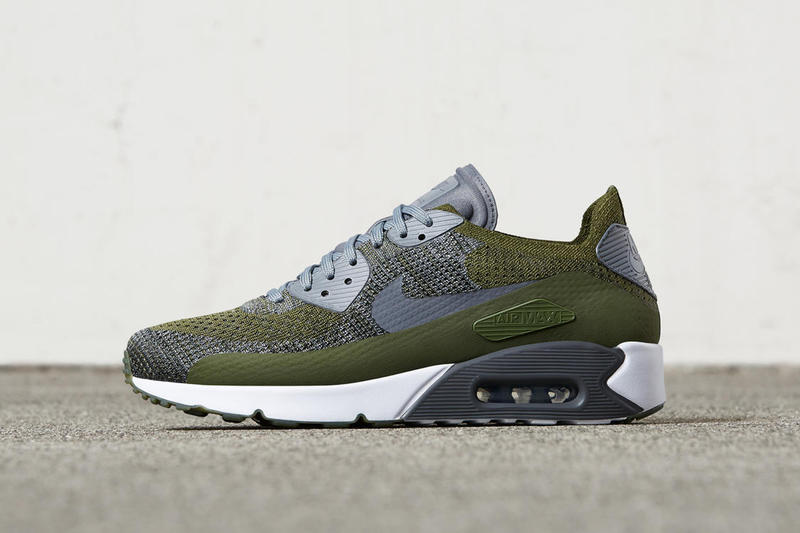 online retailer 52d85 9c326 Nike Air Max 90 Ultra Flyknit Olive | HYPEBEAST