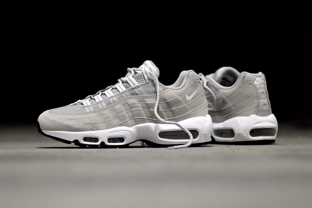 "Nike Wraps the Iconic Air Max 95 Silhouette In ""Granite"""