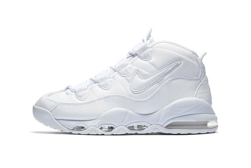 buy online 3156b be08e Nike Air Max Uptempo Triple White