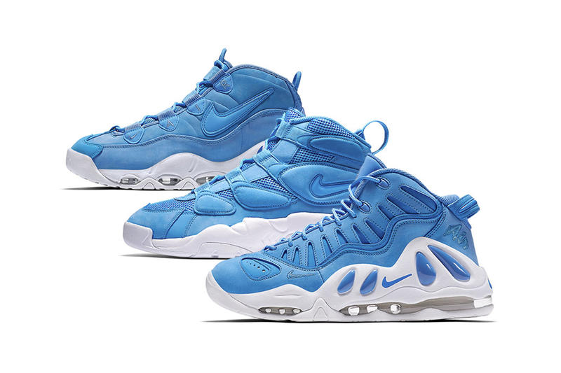 """Featuring three models in """"University Blue."""" Nike Air Uptempo ... 1cc22661b5"""