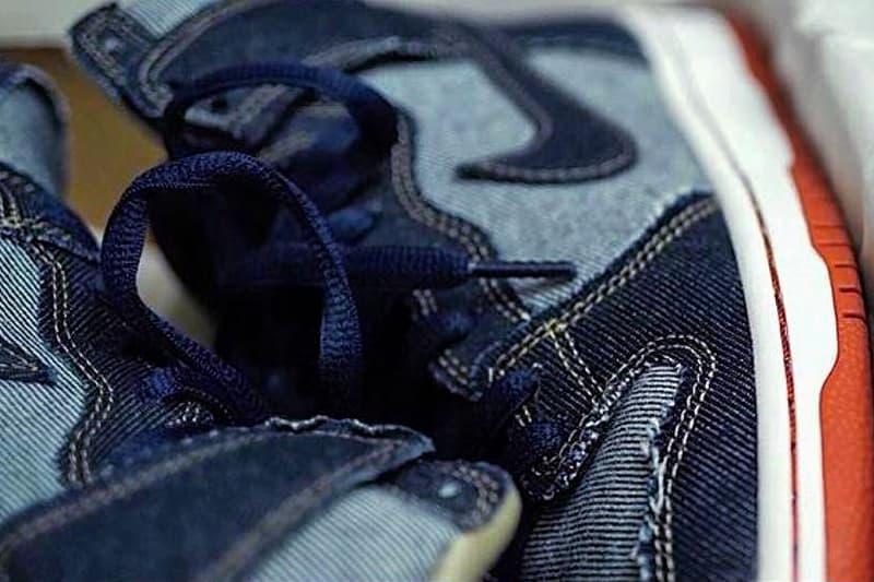Nike Dunk Pro SB Denim High 2017