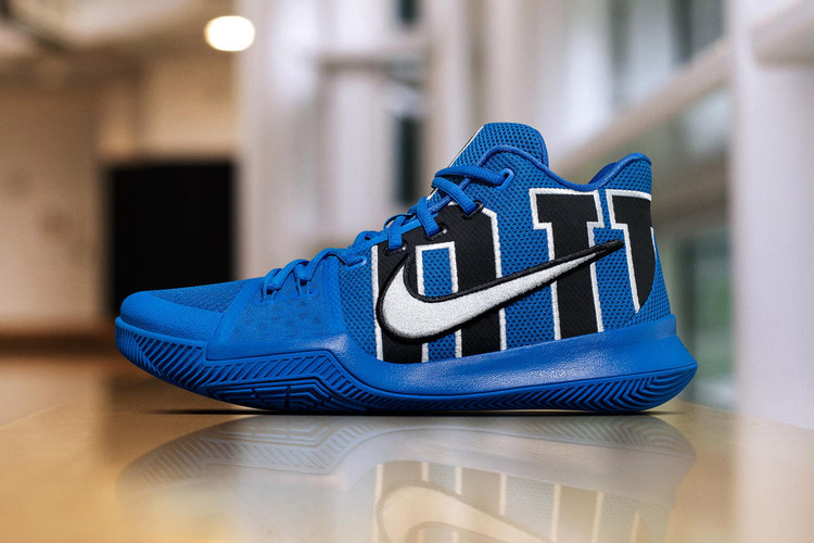 buy popular df760 3e3f2 Nike s Kyrie 3 Feels the Blues With Special Duke PE