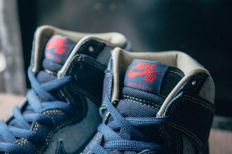 Nike SB Dunk Hi OG Reese Forbes Denim