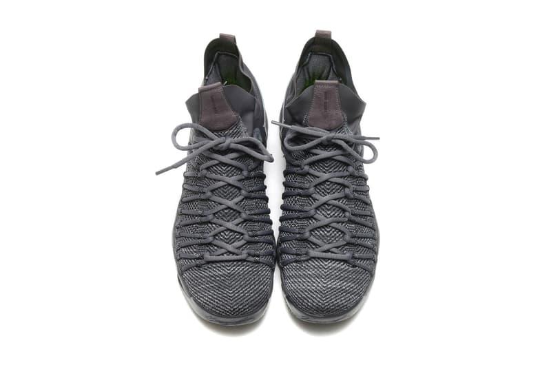 Nike Zoom KD 9 Elite Dark Grey Sail Hyper Jade